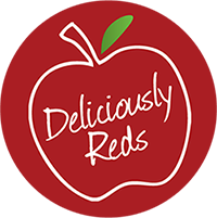 apples - deliciously reds logo
